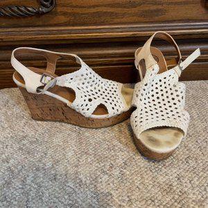 SO Crochet Wedge Sandal